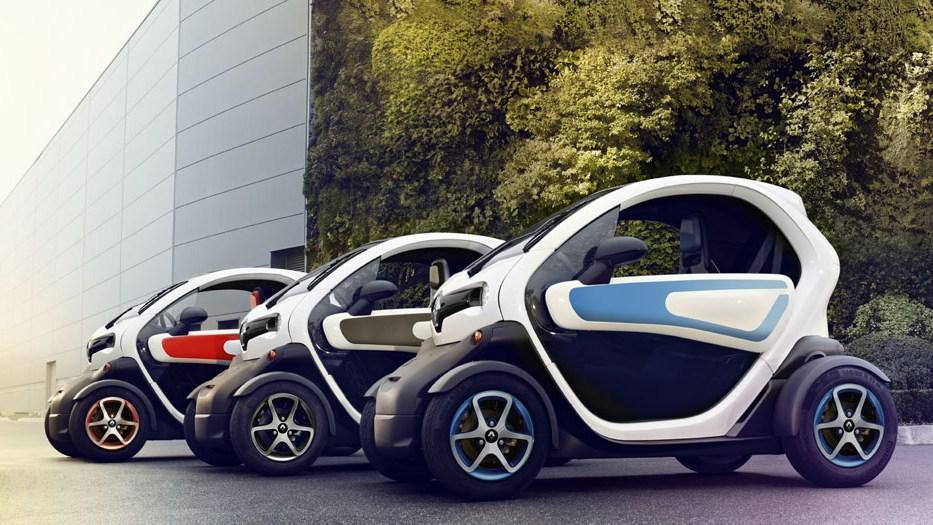 Twizy Electric Car Renault Uae